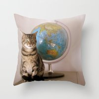 The World Is Not Enough Throw Pillow