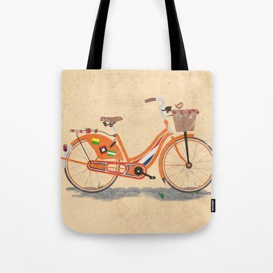 Love Holland, Love Bike Tote Bag