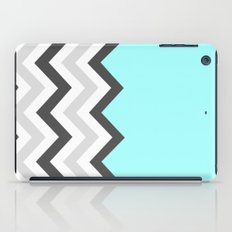 Color Blocked Chevron 16 iPad Case