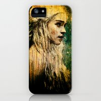 iPhone 5s & iPhone 5 Cases featuring Daenerys by Sirenphotos