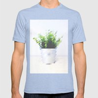 Plant Mens Fitted Tee Tri-Blue SMALL