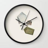 Suburban Dream Wall Clock