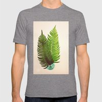 Ferns Mens Fitted Tee Tri-Grey SMALL