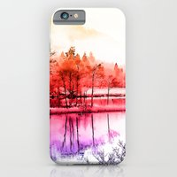 Tranquility in Red iPhone 6 Slim Case