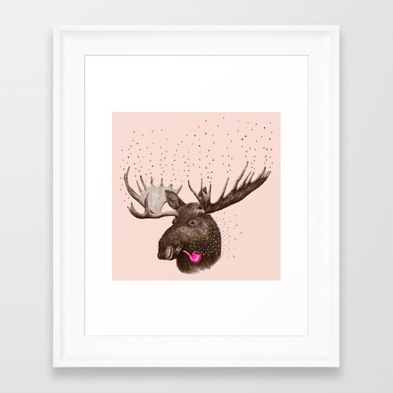 Moose III Framed Art Print