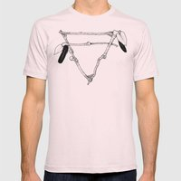 Earth Mens Fitted Tee Light Pink SMALL
