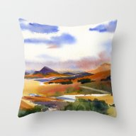 Mountains Of The Southwe… Throw Pillow