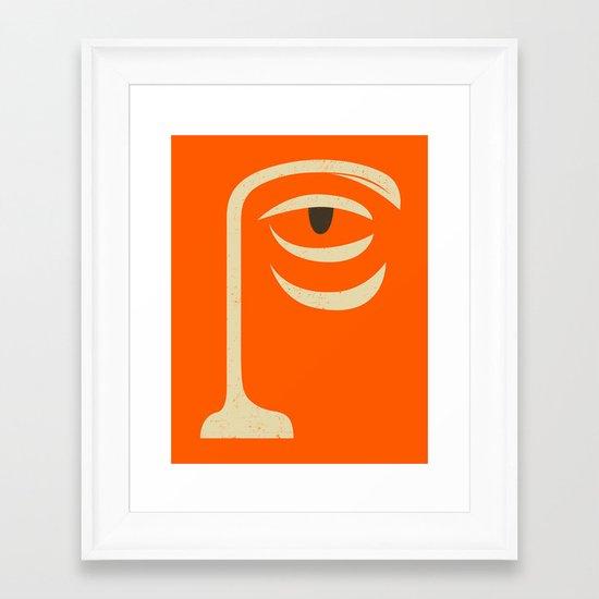 Yogi Framed Art Print