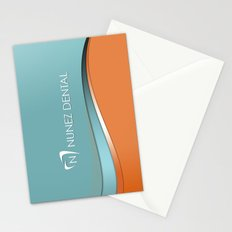 Nunez Dental Logo Stationery Cards