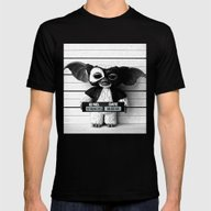 Gizmo Lineup Mens Fitted Tee Black SMALL