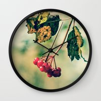 Berry Berry Me  Wall Clock