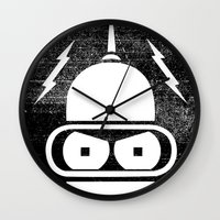 The Future Is Watching Wall Clock