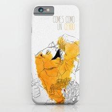 Comes como un cerdo (you eat like a pig) iPhone 6 Slim Case