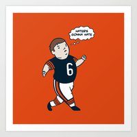 Cutler: Haters Gonna Hate Art Print