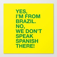 From Brazil I Canvas Print