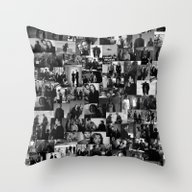 Throw Pillow featuring The Truth Is Out There by Foreverwars