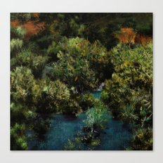 Yaban Mersini Canvas Print
