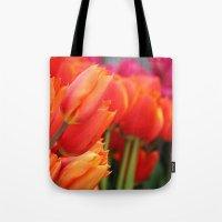 Cheery Tulips Tote Bag