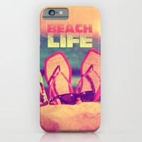 iPhone Cases featuring Beach Life - for iphone by Simone Morana Cyla