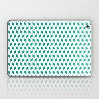 rhombus bomb in emerald Laptop & iPad Skin