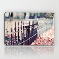 Autumn Fence Laptop & iPad Skin