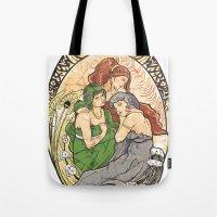 Goddesses of Hyrule Tote Bag