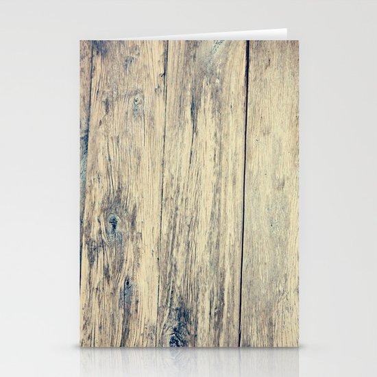Wood Photography II Stationery Card