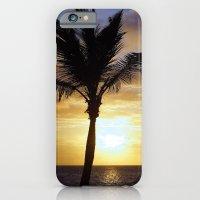 Tropical Sunrise Palm Si… iPhone 6 Slim Case