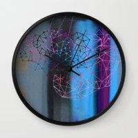 transparent evening Wall Clock
