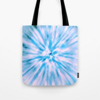 TIE DYE - LIGHT BLUE Tote Bag