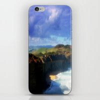 Southern Ocean Headlands iPhone & iPod Skin