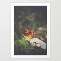 Found {Autumn Edition} Art Print