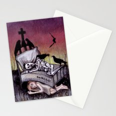 Sleeping at last Stationery Cards