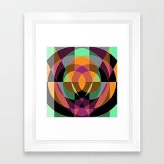 Composition II/III Framed Art Print