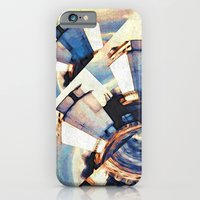 iPhone & iPod Case featuring Tiny Winy Planet Collage by Molzography