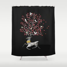 Forest King Shower Curtain