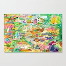 20,000 Leagues Canvas Print