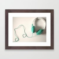 Music Is The Answer Framed Art Print