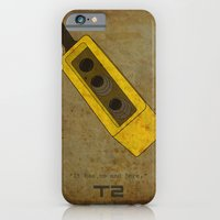 iPhone & iPod Case featuring Alternative Terminator 2 Movie Poster by maclac