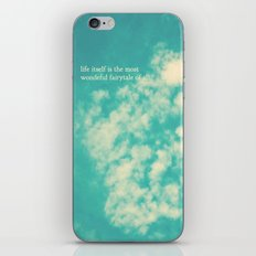 life's a fairytale iPhone & iPod Skin