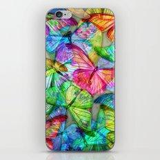 Butterfly Farm iPhone & iPod Skin