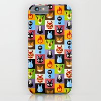 iPhone Cases featuring Miyazaki's by badOdds