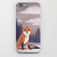 iPhone & iPod Case featuring Lone Fox by Lorri Leigh Art
