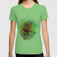 Lindsey Stirling Womens Fitted Tee Grass SMALL
