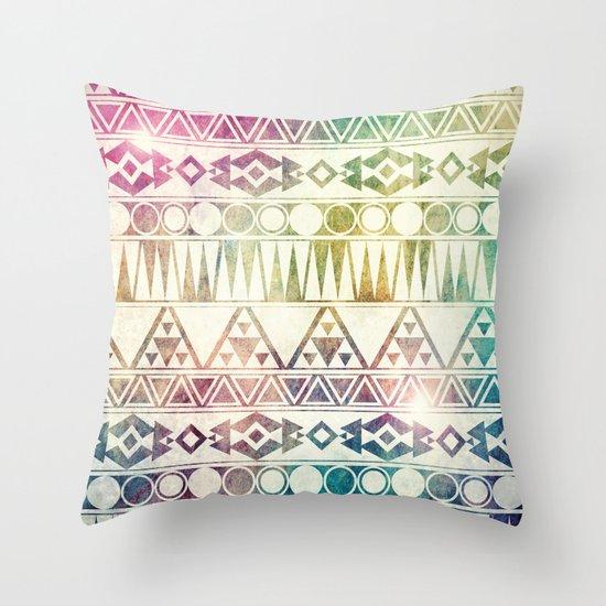 Tribal Horizons Throw Pillow