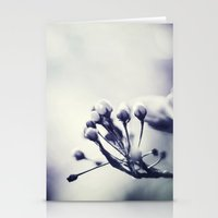 Spring in Black and White III Stationery Cards