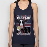 Compassionate Britain We Need You Unisex Tank Top