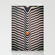 Stationery Cards featuring Dot V (melt) by Metron