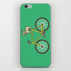 Frenchie on a Fixie iPhone & iPod Skin