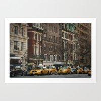 West 86th Street Art Print